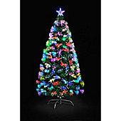 6ft Colour Burst Fibre Optic Tree