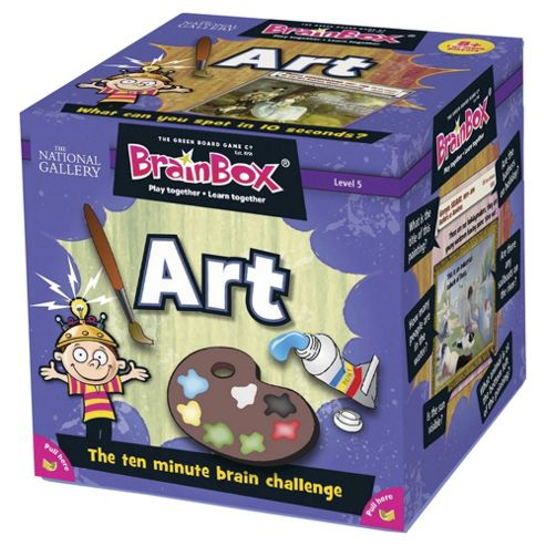 BrainBox Art Memory Game