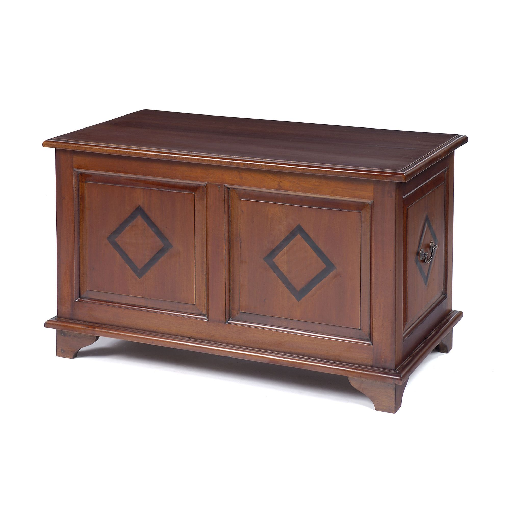 Anderson Bradshaw Victorian Inlaid Panelled Chest at Tesco Direct