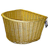 "Adie 18"" D Shape Wicker Basket"