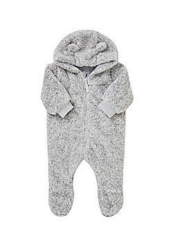 F&F Teddy Bear Fleece All in One - Grey