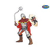Officer With Mace RED - Knights - Papo