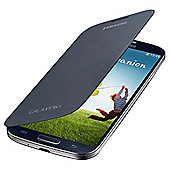Samsung Original Flip Case for Samsung Galaxy S4 - Black