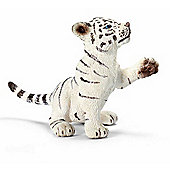 Schleich Tiger cub white playing