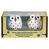 Set of 2 Owl Lip Balms