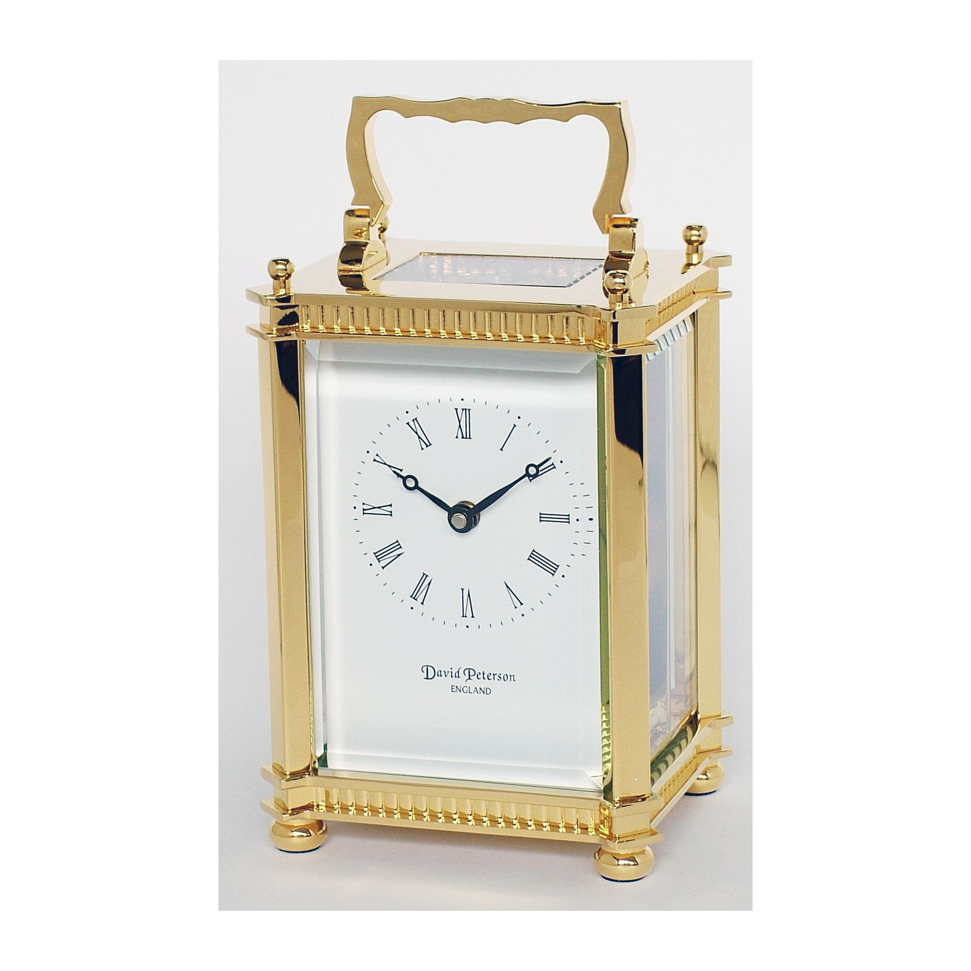 David Peterson Ltd 8 Day Pierre Blanc Carriage Clock at Tesco Direct