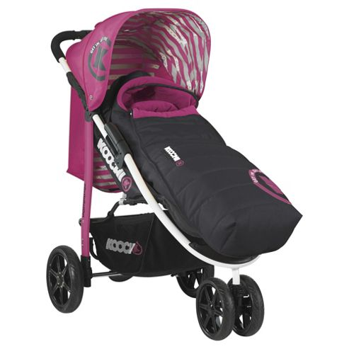 Koochi Pushmatic Pushchair, Mix Magenta