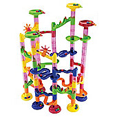 Marbureka 105 Piece Marble Run Set