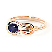 QP Jewellers 0.65ct Sapphire San Francisco Ring in 14K Rose Gold
