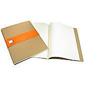 Moleskine Cahiers X Large Ruled Journals Kraft Cover
