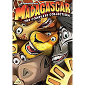 Madagascar 1-3 Boxset (Re-Sleeve) 3 Disc DVD