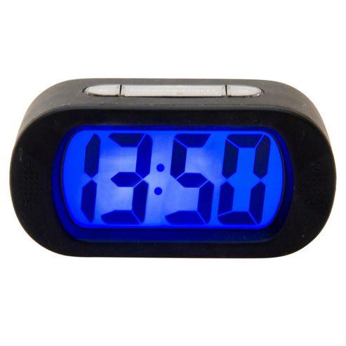 Buy Karlsson Gummy Alarm Clock Black From Our Clocks