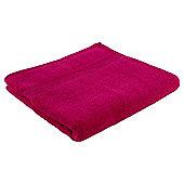Tesco Hygro 100% Cotton Towel - Pink