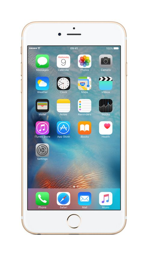 Tesco Mobile iPhone 6s Plus 128GB Gold