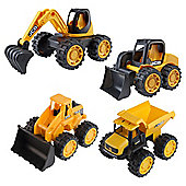 JCB Construction Team Vehicles (4 pack)