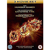 The Hunger Games: Triple Pack DVD - (3 Disc)