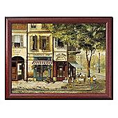 Pimpernel Cushioned Lap Tray, Parisian Scenes 44 x 34cm