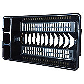 Tesco Basics Dish Drainer, Black