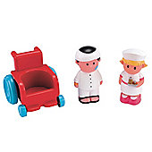 Happyland Nursing Set