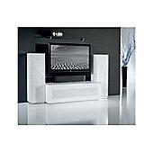 Triskom Exclusive Composition 2 TV Stand - White - Composition 2C