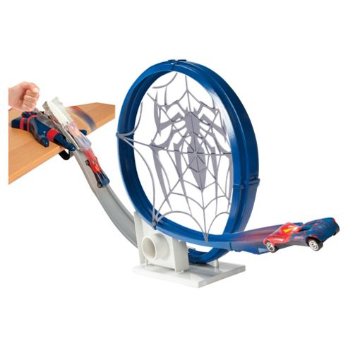 The Amazing Spiderman Loop 'n' Launch Track set