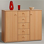 Amos Mann furniture Tempra Beech Wide Sideboard
