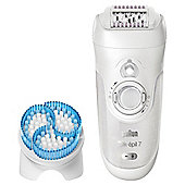 Braun 7921e Legs and Body Epilator with brush
