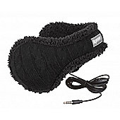 Cable Knit Headphone Ear Warmer Women