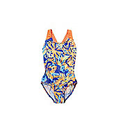 Speedo Endurance®+ Tropical Print Swimsuit - Multi