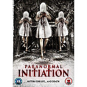 Paranormal Initiation DVD