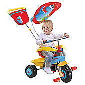 Smart Trike Candy 3-in-1 Trike, Blue/Yellow/Red