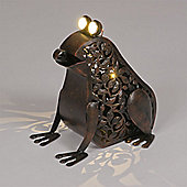 Garden Glows Solar Powered Frog Garden Light