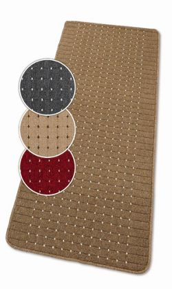Dandy Stanford Chestnut / Sugar Contemporary Rug - 50cm x 80cm