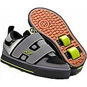 Heelys Dart Grey/Black/Green Heely Shoe