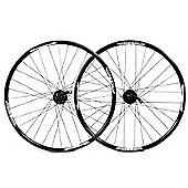 Wilkinson Disc / Shimano Deore 650B Black Front Wheel