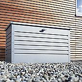 Biohort Leisuretime Storage Box - Metallic Silver - 180
