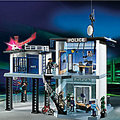 Playmobil 5182 Police Station with Alarm System