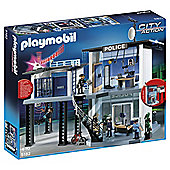 Playmobil City Action Police Station with Alarm System 5182