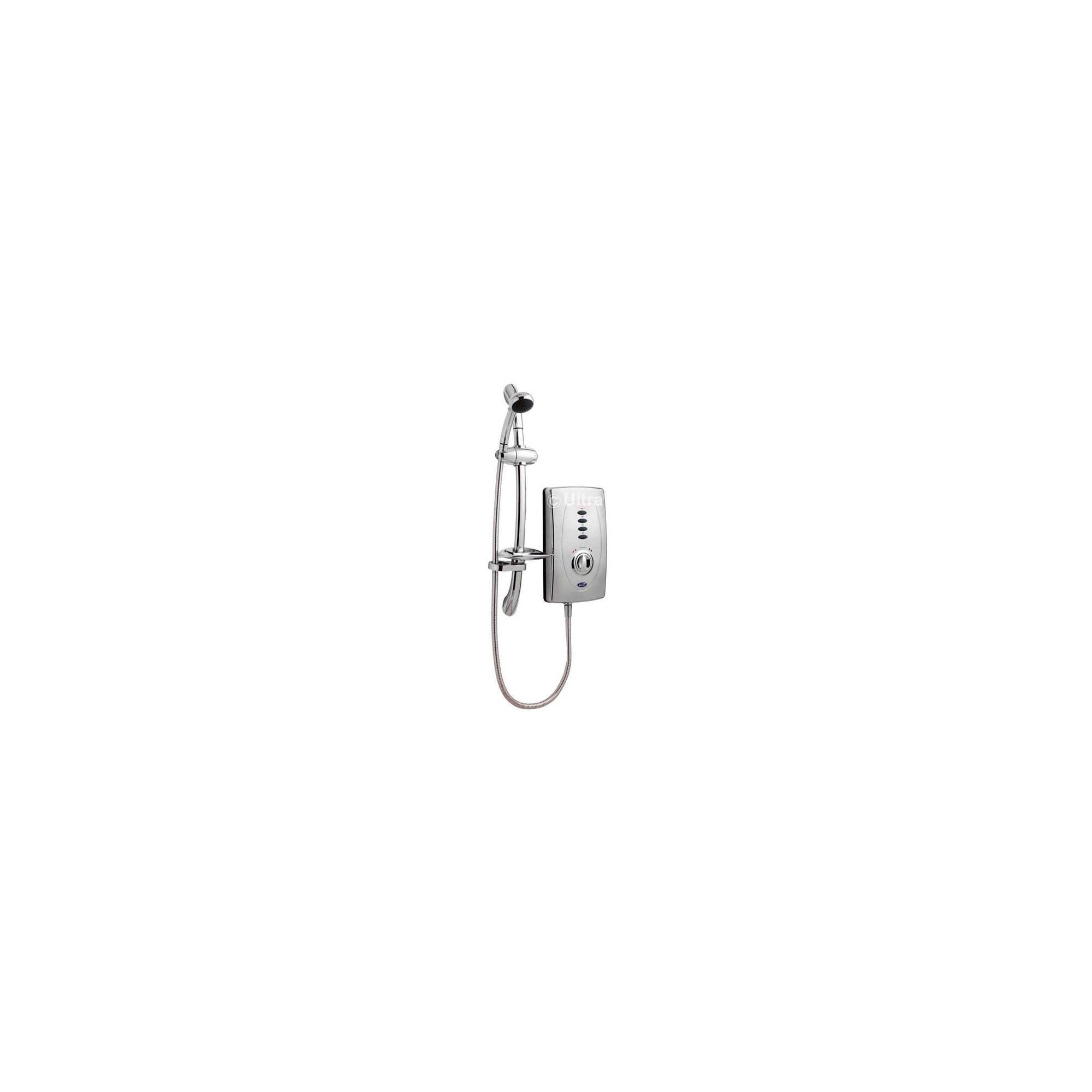 Ultra Chic 650 Slimline Electric Shower Chrome 9.5kW at Tesco Direct