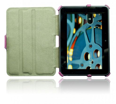 U-bop NeoORBIT Vertical Kindle Flip Case Purple - For Amazon Kindle Paperwhite