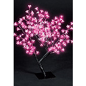 Snowtime Cherry Blossom Tree - Shocking Pink - 67 cm H