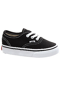 Vans Authentic Black Toddler Shoe ED9BLK - Black