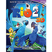 Rio 2 3D Bd - Digital Hd Uv