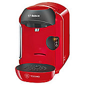 Bosch Tassimo Vivy Coffee Machine, TAS1253GB - Red