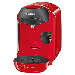 BOSCH Tassimo Vivy TAS1253GB Hot Drinks and Coffee Machine, Red