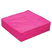 Tesco Pink Napkins, 33cm, 50 Pack
