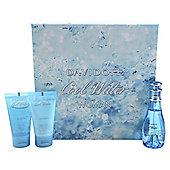Davidoff Coolwater Femme 50Ml Edt Vapo + 50Ml Shower + 50Ml Body