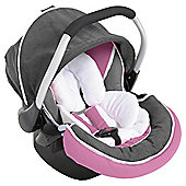 Hauck Zero Plus Select Car Seat, Group O+ Pink/Grey