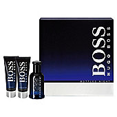 Hugo Boss Bottled Night 50ml EDT Spray, 50ml Shower Gel & 50ml Aftershave Balm Gift Set