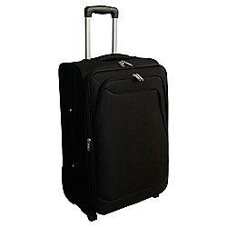 Tesco Soft Sided 2-Wheel Suitcase, Black Large